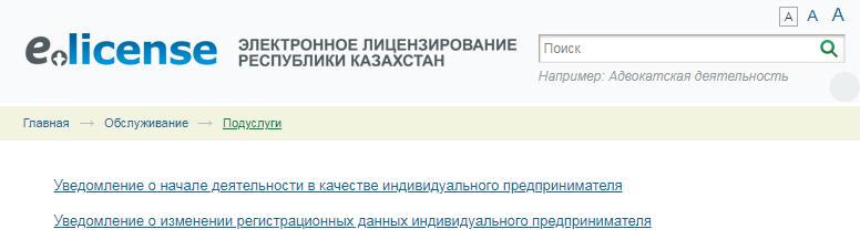 Регистрация в качестве ип в казахстане составление декларации 3 ндфл москва